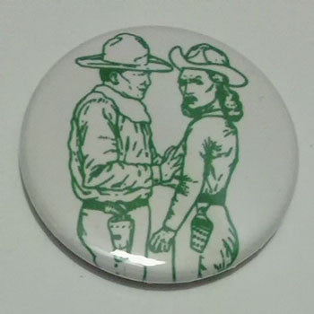 Minutemen - Paranoid Time (Cowboy) (Badge)