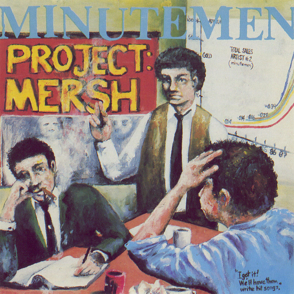 Minutemen - Project Mersh (LP)