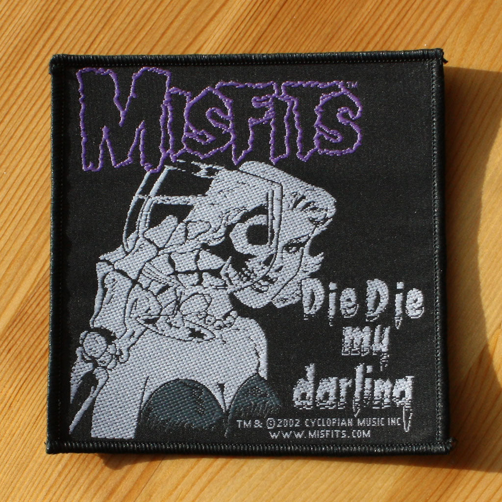 Misfits - Die Die My Darling (Woven Patch)