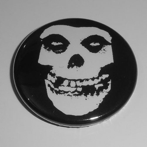 Misfits - Fiend (White) (Badge)