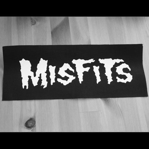 Misfits - Logo (Superstrip) (Backpatch)