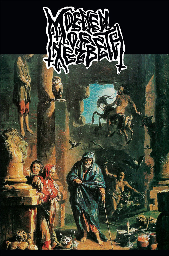 Moenen of Xezbeth - Ancient Spells of Darkness... (Cassette)