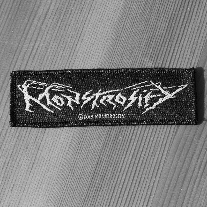 Monstrosity - Logo (Woven Patch)
