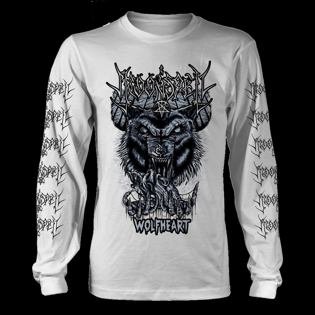 Moonspell - Wolfheart (White) (Long Sleeve T-Shirt)