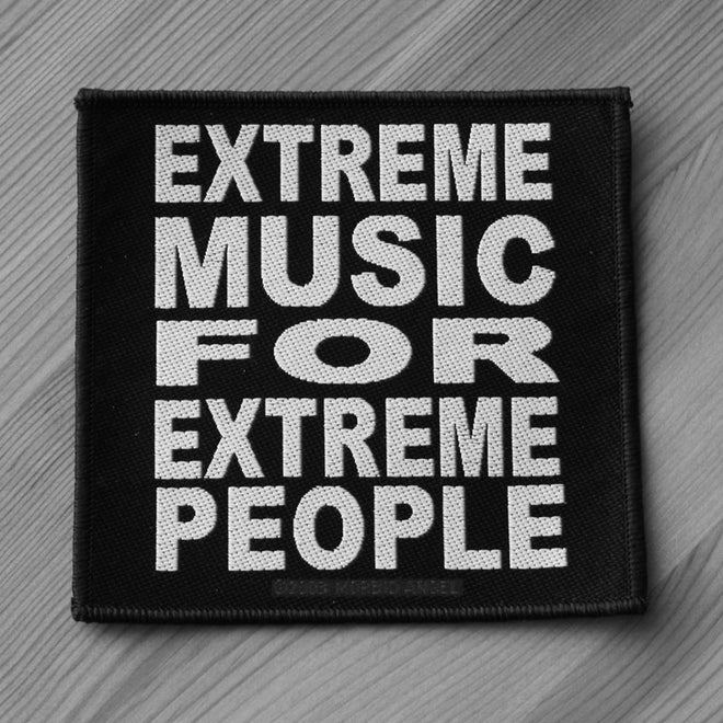 Morbid Angel - Extreme Music for Extreme People (Woven Patch)