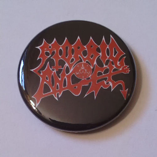 Morbid Angel - Red and White Logo (Badge)