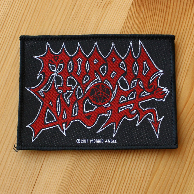 Morbid Angel - Red Logo (Woven Patch)