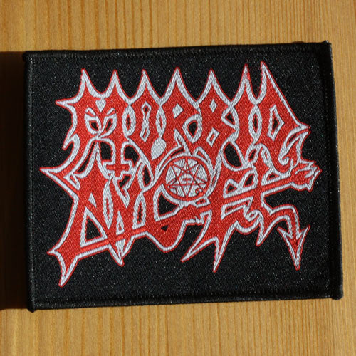 Morbid Angel - Red & White Logo (Woven Patch)