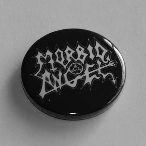 Morbid Angel - White Logo (Badge)