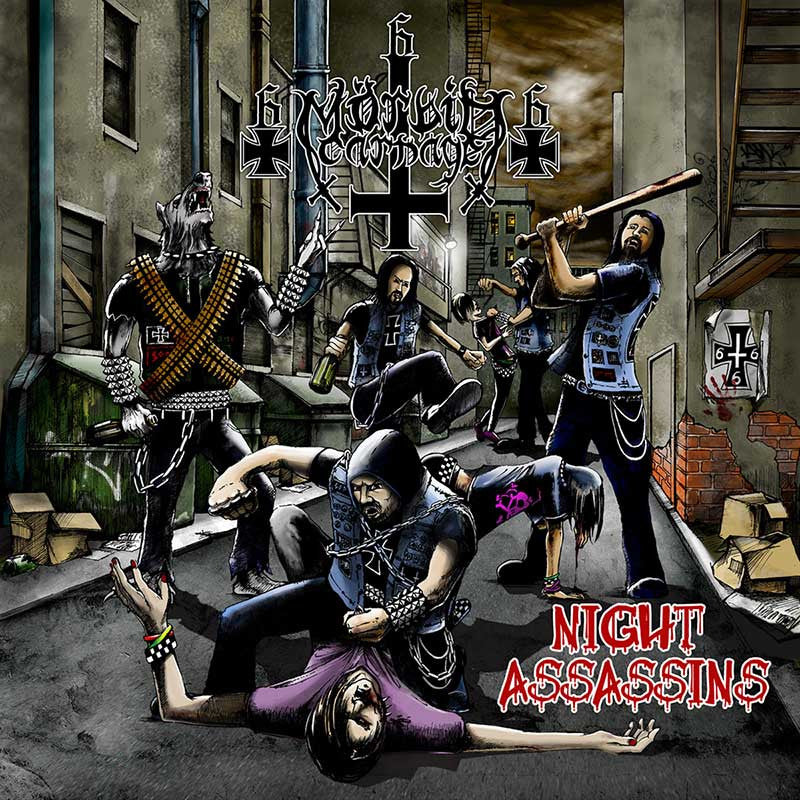 Morbid Carnage - Night Assassins (CD)