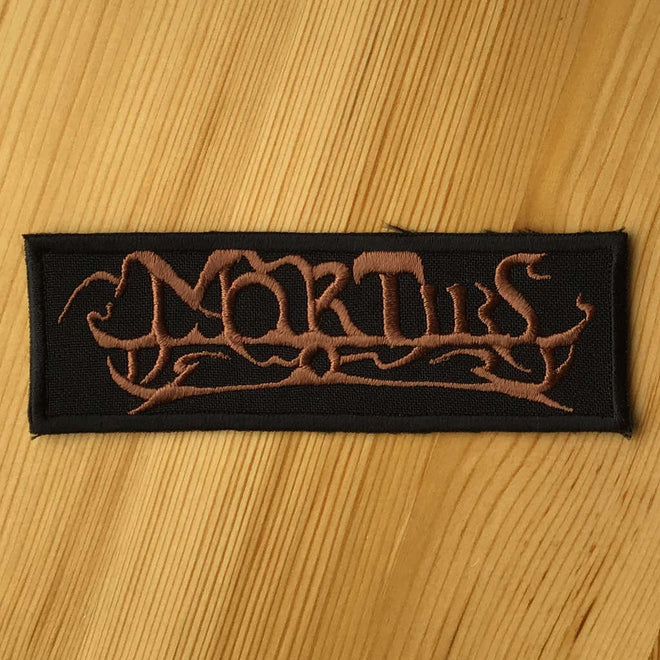 Mortiis - Logo (Embroidered Patch)