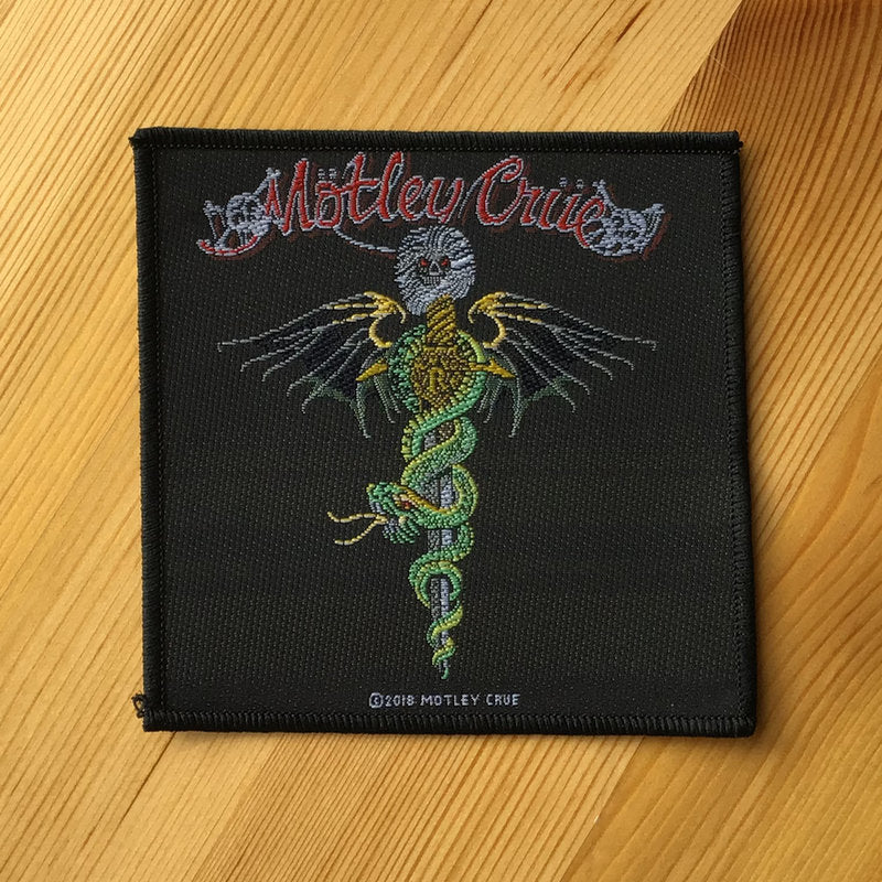 Motley Crue - Dr Feelgood (Woven Patch)