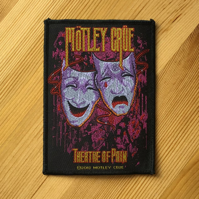 Motley Crue - Theatre of Pain (Woven Patch)