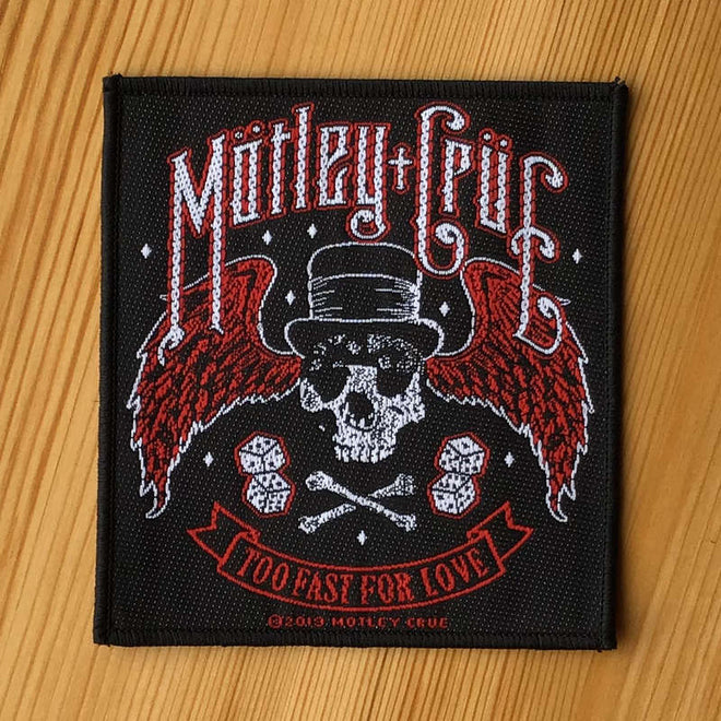Motley Crue - Too Fast for Love (Woven Patch)