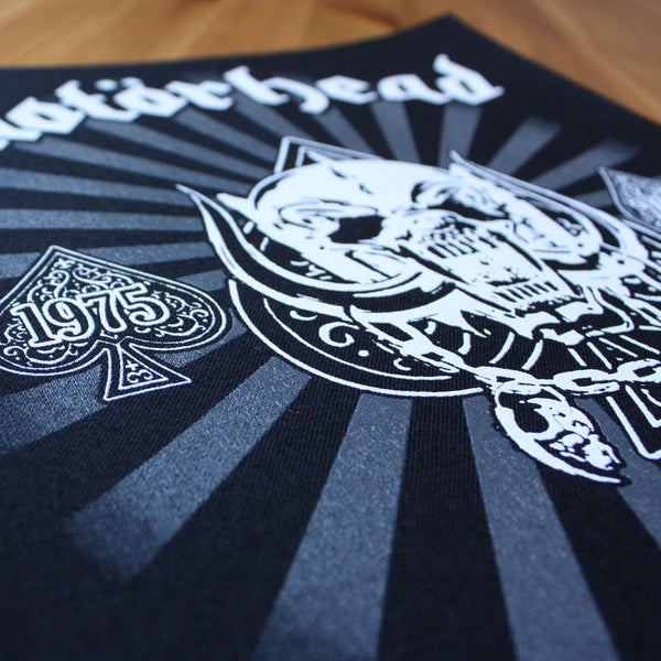 Motorhead - 1975-2015 Victoria aut morte (Backpatch)