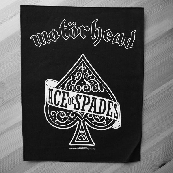 Motorhead - Ace of Spades (Backpatch)