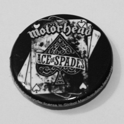 Motorhead - Ace of Spades (Cards) (Badge)