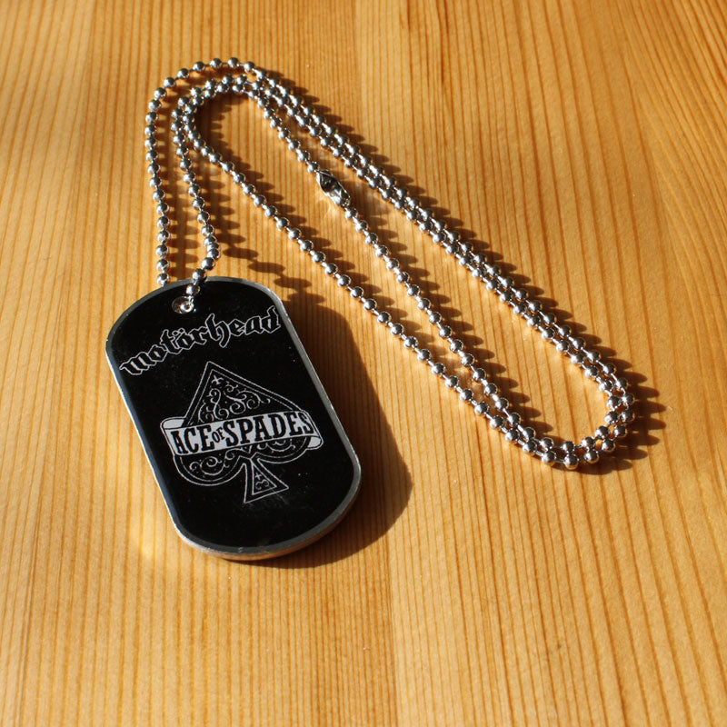Motorhead - Ace of Spades (Dog Tag) (Pendent)