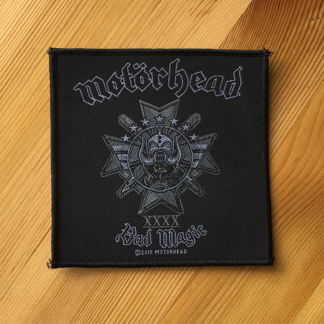 Motorhead - Bad Magic (Woven Patch)