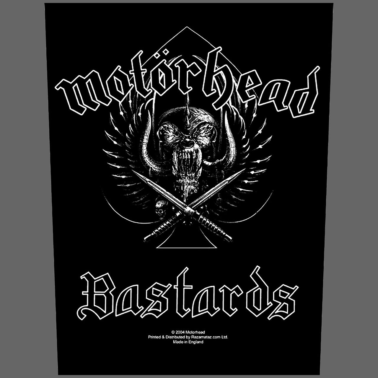 Motorhead - Bastards (Backpatch)