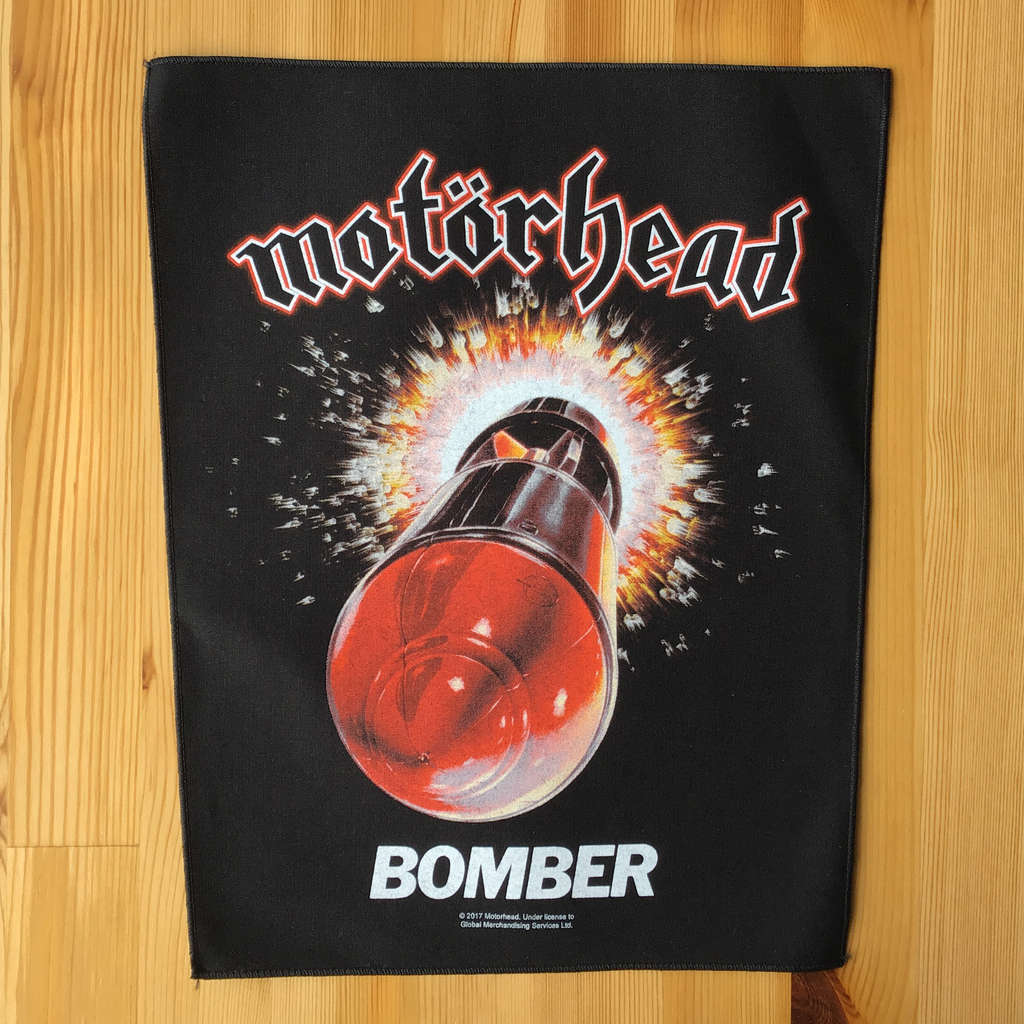 Motorhead - Bomber (Backpatch)