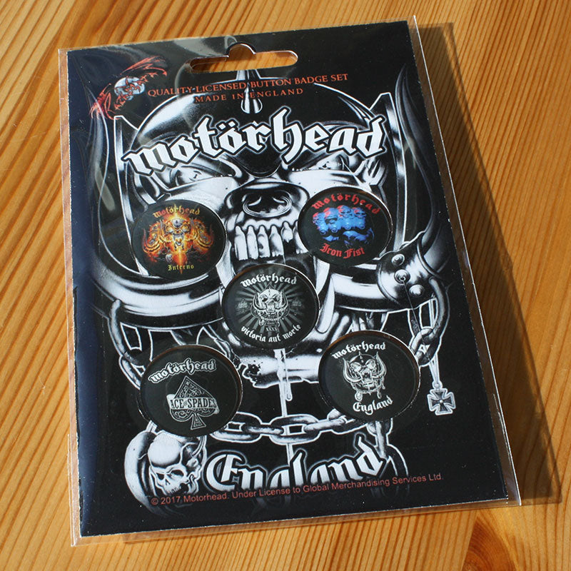 Motorhead - England (Badge Pack)