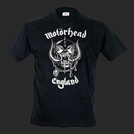 Motorhead - England / Everything Louder (T-Shirt)