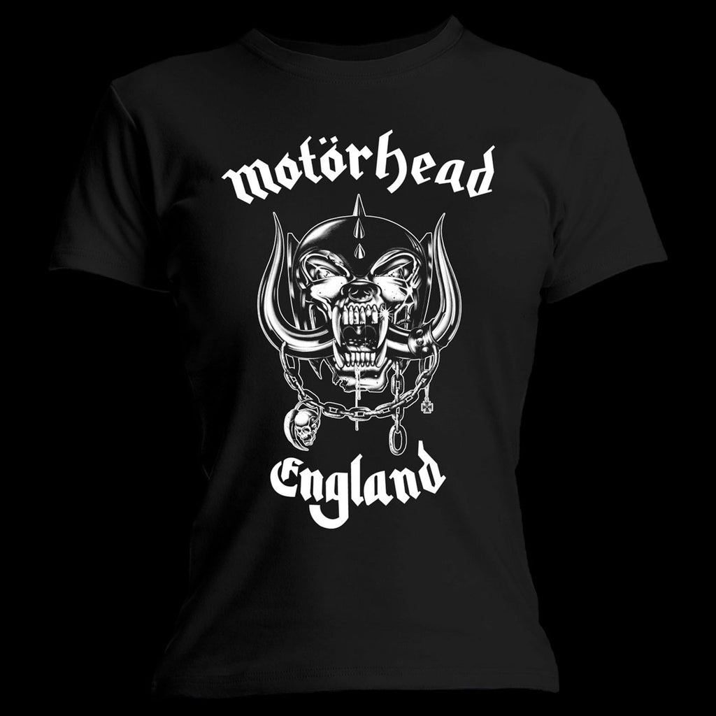 Motorhead - England / Everything Louder (Women's T-Shirt)