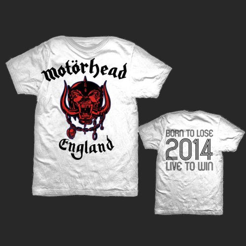 Motorhead - England (World Cup 2014) (T-Shirt)