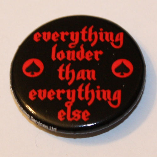 Motorhead - Everything Louder Than Everything Else (Red) (Badge)