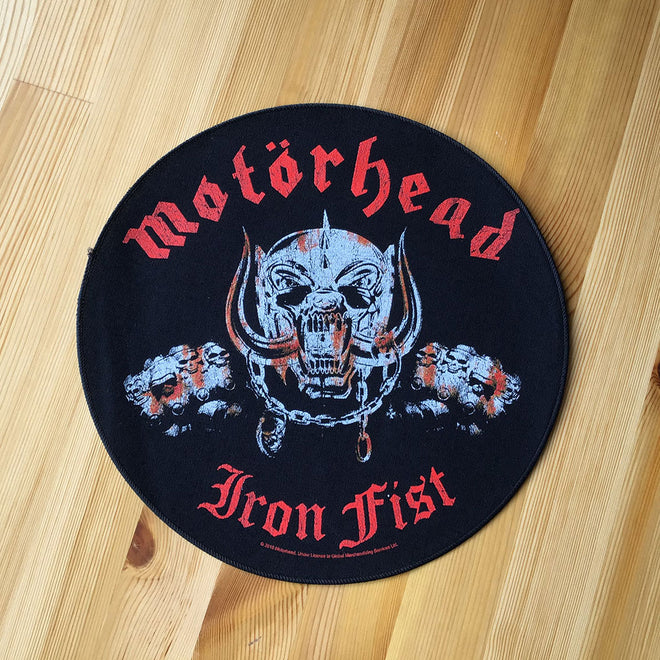 Motorhead - Iron Fist Snaggletooth (Backpatch)