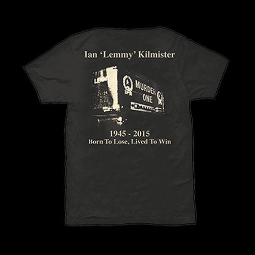 Motorhead - Lemmy: Lived to Win (T-Shirt)