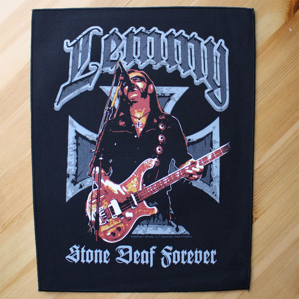Motorhead - Lemmy: Stone Deaf Forever (Backpatch)