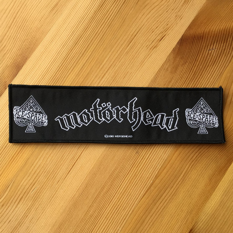 Motorhead - Logo & Ace of Spades (Superstrip) (Woven Patch)
