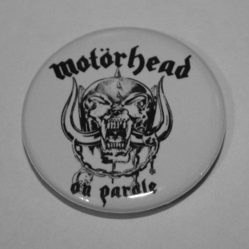 Motorhead - On Parole (Badge)