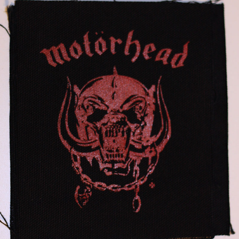 Motorhead - Red Logo & Snaggletooth (Printed Patch)
