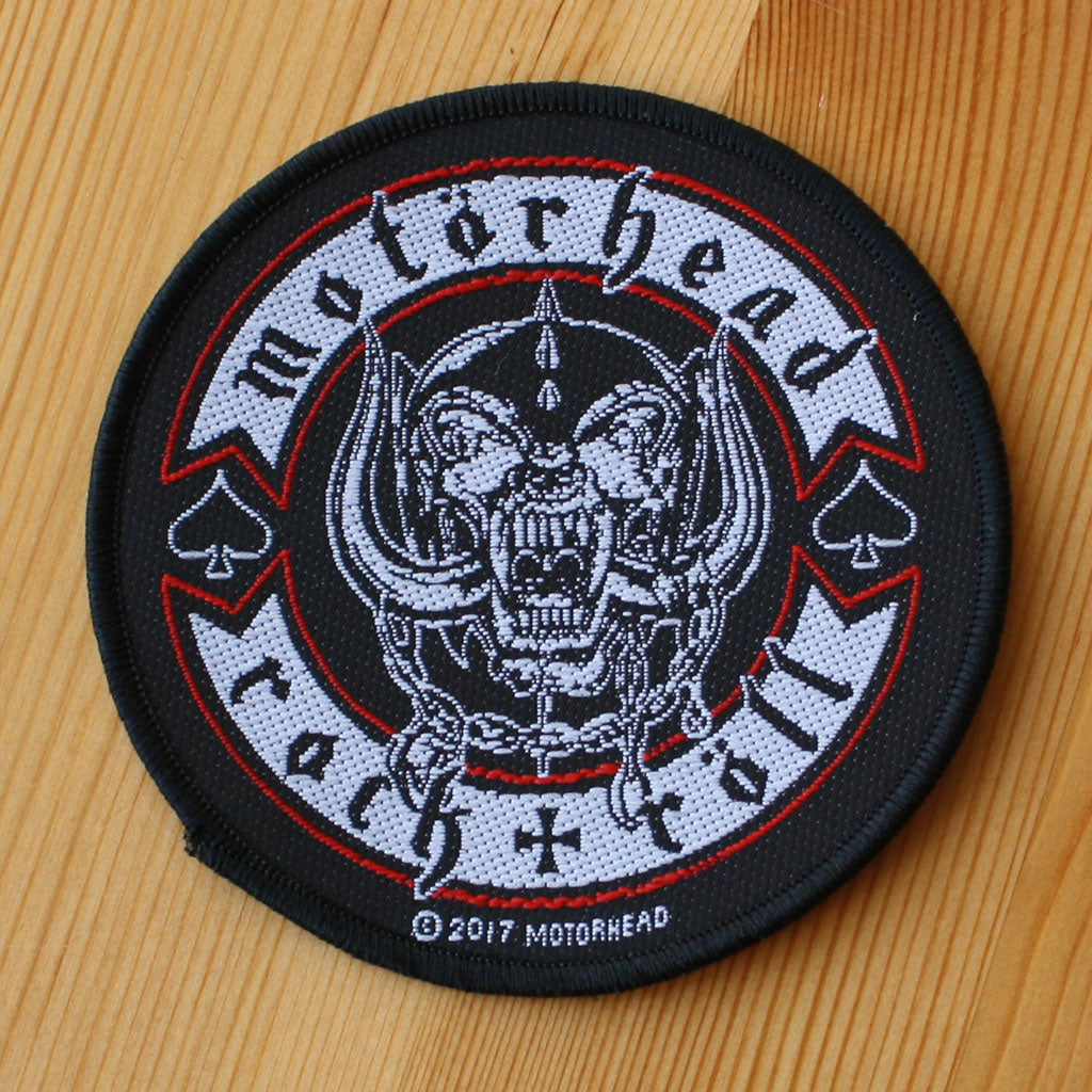 Motorhead - Rock & Roll (Biker) (Woven Patch)