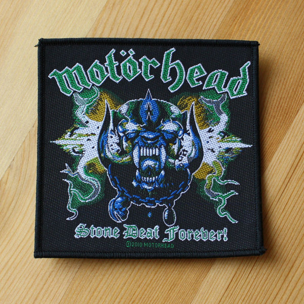 Motorhead - Stone Deaf Forever (Woven Patch)