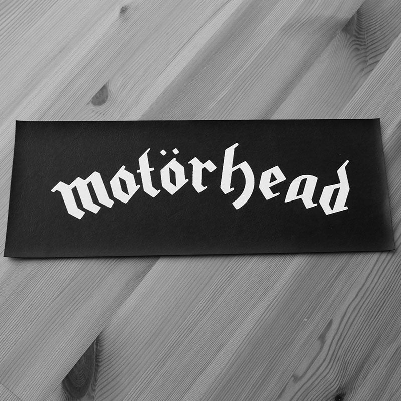 Motorhead - Logo (Leather) (Superstrip) (Backpatch)