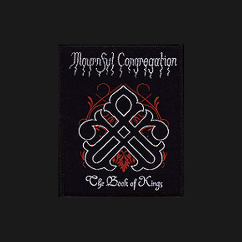 Mournful Congregation - The Book of Kings (Woven Patch)