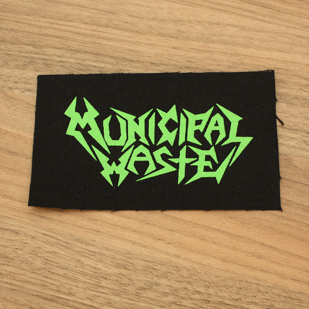Municipal Waste - Green Logo (Printed Patch)