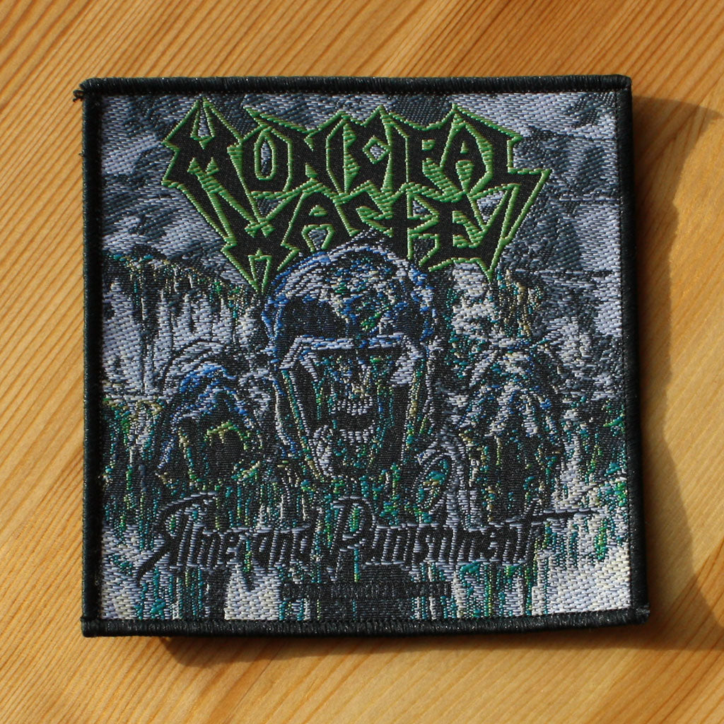 Municipal Waste - Slime and Punishment (Woven Patch)