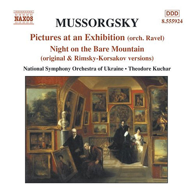 Mussorgsky - Pictures at an Exhibition / Night on the Bare Mountain (National Symphony Orchestra of Ukraine, Kuchar) (CD)