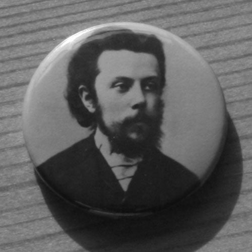 Mussorgsky - 1865 Portrait (Badge)