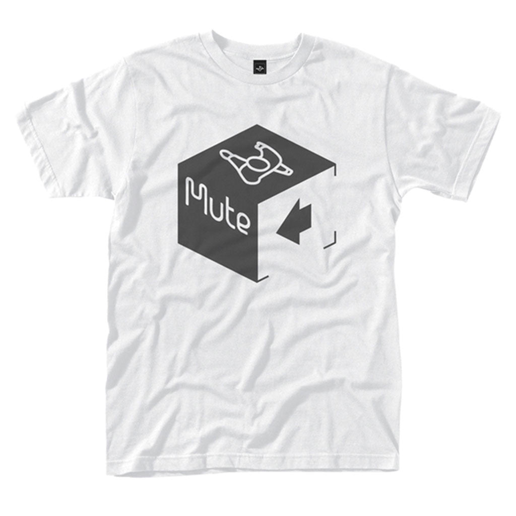 Mute Records Cube Logo (T-Shirt)