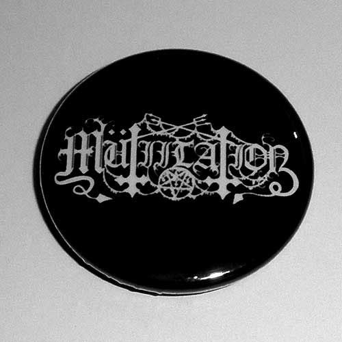 Mutiilation - White Logo (Badge)