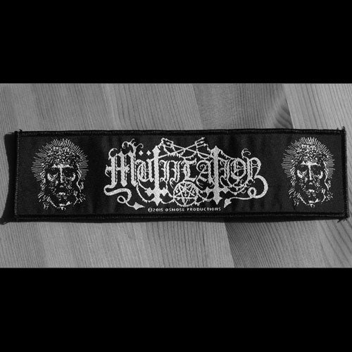 Mutiilation - White Logo / New False Prophet (Woven Patch)