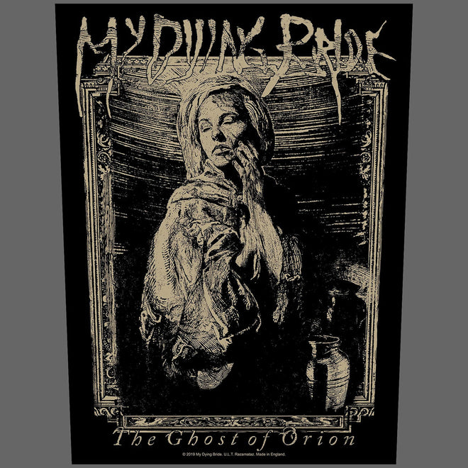 My Dying Bride - The Ghost of Orion (Woodcut) (Backpatch)