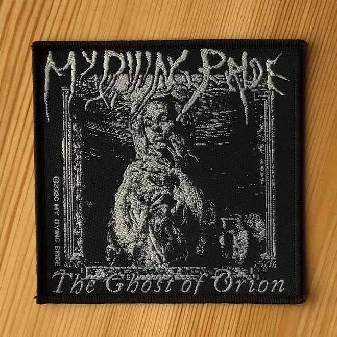 My Dying Bride - The Ghost of Orion (Woodcut) (Woven Patch)