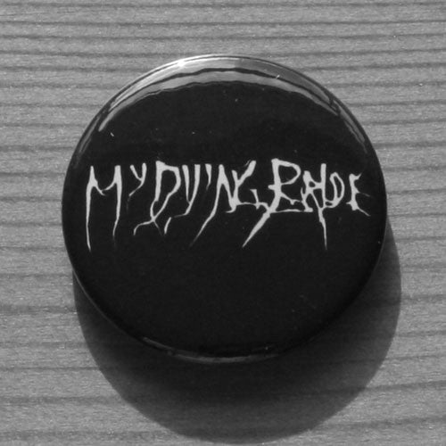 My Dying Bride - White Logo (Badge)